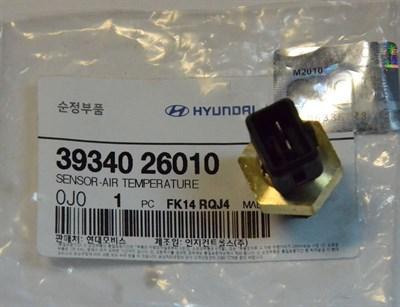 Датчик температуры воздуха HYUNDAI Porter 2 (12-), Starex, H-1, KIA Bongo 3 (12-) (2.5-A2) - фото 4676