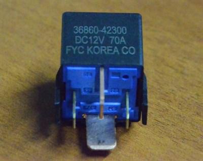 Реле свечей накаливания Hyundai Porter 1 - фото 5050