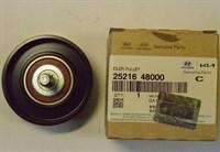 Обводной ролик вентилятора Hyundai 2521648000
